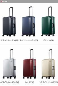 【即納】【送料無料】エース スーツケース ace.TOKYO パリセイドF Palisades-F キャリーケース ハードケース 61L 05572