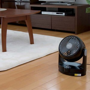 サーキュレーター 首振り 静音 扇風機 〜8畳 PCF-HD15-W・PCF-HD15-B ホワイト・ブラック タイプ Hシリーズ アイリスオーヤマ