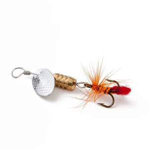 【オルルド釣具】スピナー 「トラルドB」 3g 5.2cm ルアー4個セット