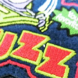 097453-16/ナカジマコーポレーション/【Disney】キャラクターワッペンバッジ(トイストーリー/バズ)/マスコット/飾り/おもちゃ