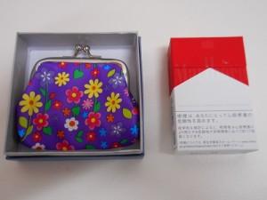 ◆花がらシリーズ◆がま口財布・コインケース★箱付き★贈り物に 1320