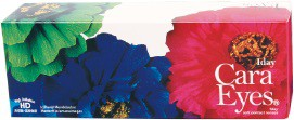 ワンデーキャラアイ カラーシリーズ ヴィヴィッドブラウン カラコン1日使い捨て 1箱5枚入り2箱セット S−PAL