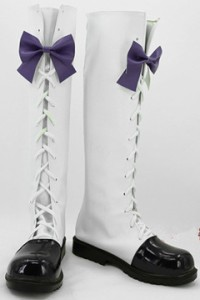 Gargamel  コスプレ靴 VOCALOID vocaloid miku diva f 2end コスプレブーツ オーダーサイズ製作可能m2041