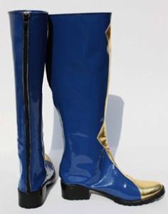 Gargamel  コスプレ靴 反逆のルルーシュ ゼロ 黒騎士団 コスプレブーツm1235b