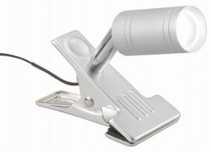 LED クリップライト 昼白色 LTL-C6N-S オーム電機 06-1307