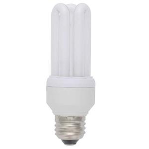 エコ電球 D型 E26 昼白色 11W/60W形 EFD15EN/11 オーム電機 04-1300