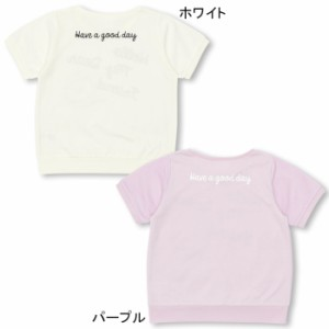 8/17〜SS_SALE60%OFF PINKHUNT チュール重ね Tシャツ-キッズ ジュニア ガールズ ベビードール 子供服-9257K