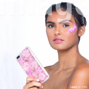 iPhone 8/ iPhone 7/ iPhone 6s/ iPhone 6 ハードケース CM036092【5227】クリア ドライフラワー 花 ピンク がうがうインターナショナル