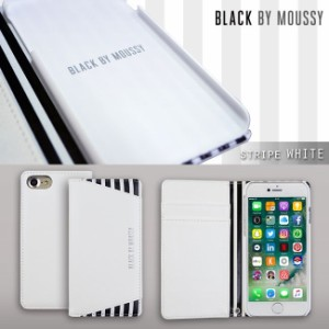 iPhone8 iPhone7/6s/6 【BLACK BY MOUSSY/ブラックバイマウジー】「手帳ケース-4Color」 迷彩