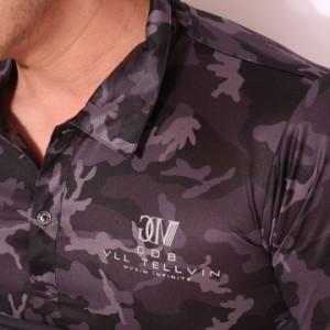 グラディエイト GLADIATE 吸水速乾 リフレクティブプリント カモフラ 半袖ポロシャツ(462405)【送料無料】
