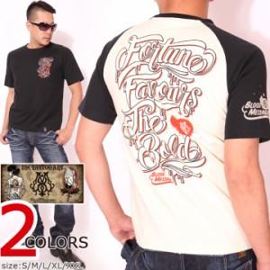 BLOOD MESSAGE SCRIPT 半袖Tシャツ(BLST-1040)ブラッドメッセージ タトゥー エフ商会