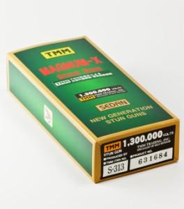 スタンガン マグナム-Xセダン 130万V/S-313【送料無料(沖縄・離島除く)】【日本護身用品協会認定】