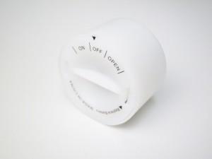 BOSCO HOUSE 陶器 キャンドルホルダー LEDキャンドル 2個付き インテリア 照明