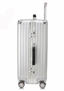 新品!Mサイズ24インチスーツケース トランク キャリーバッグ  TSAロック搭載 頑丈 ABS製 scs-10