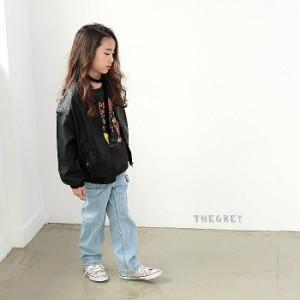韓国子供服 ロックトレーナー