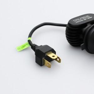 車検対応 RF2 ステップワゴン LEDヘッドライト H4 H/L 遮光板付配光をサポート ファンレス 8000LM 6500K 12V 24V