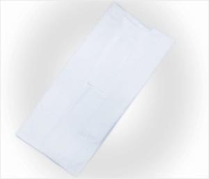 夏用(絽)洗える二部式襦袢白(日本製)M・L 単衣・夏物着物和装下着