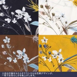 Pierrot(ピエロ)★★★キャンディースリーブ 花柄ブラウス [  トップス スリット フロントボタン シャツ ]