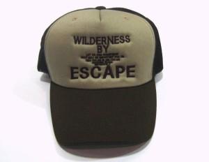 大きいサイズ 帽子 メンズ 新色登場!超ビッグサイズ65cmメッシュキャップ(ESCAPE)ブラウン
