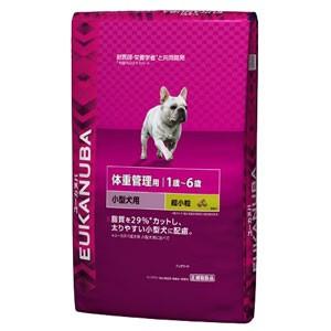 【ユーカヌバ】体重管理用 小型犬種 超小粒(6kg)[ライト/1歳〜6歳/ドッグフード/ユカヌバ]
