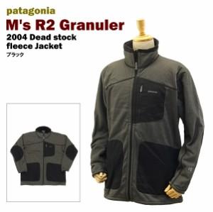 パタゴニアフリースデットストック ブラック/Lサイズ (2004 patagonia M's R2 Granuler BLK)