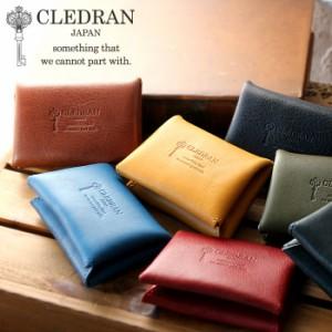 ポイント10倍 クレドラン カードケース パスケース 名刺入れ CLEDRAN DEBOR ROUNDZIP CARDCASE デボール cl2733