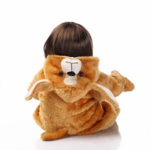 お人形 きせかえ人形 赤ちゃん  人形 リアルドール ドール リボーンドール キッズ 柔らかいビニル、布  42cm
