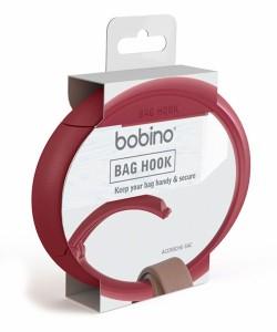 bobino/バッグフック バーガンディー