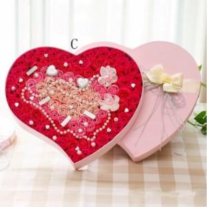 【送料無料】ソープフラワー ボックス フラワー 結婚式 お祝い  石鹸のお花 プレゼント 誕生日 記念日 愛の告白 お花  ロマンチック お花