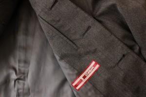 【送料無料】ダーバン D'URBAN ステンカラー コート 96 BE3 ★極美品 ★ M L ブラウングレー メンズ 通勤 ★未使用に近い★極美品★