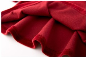 DM 韓国 子供服  ステッチングワンピース 厚着 ベルベット ワンピース 異国風情偽2点セット ベルベット ワンピ 七五三 DL2093