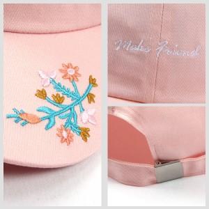 [one size]キャップ 帽子 花柄 刺繍 3,000円で店内送料無料 大きいサイズ レディース Re-J(リジェイ)