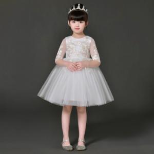 子供 ピアノ発表会 ドレスフォーマルピアノ 子ども服 女の子ワンピースキッズダンス衣装 コンクールセレモニードレス七五三 結婚式zy90