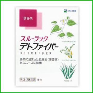 【第(2)類医薬品】 スルーラックデトファイバー 15包