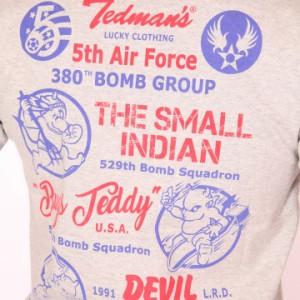 TEDMAN 5th Air Force 半袖Tシャツ(TDSS-471)【送料無料】テッドマン エフ商会