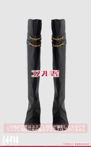 【コスプレ問屋】刀剣乱舞(とうらぶ)★にっかり青江 極 靴 ロングブーツ☆コスプレ衣装