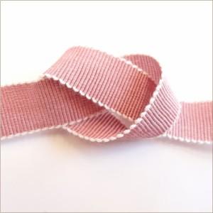 ポリレーヨン グログラン リボン 18mm メーター売 全26色 シャンブレー SHINDO 服飾 手芸 ハンドメイド アクセサリー SIC-182-18