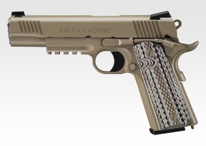 【2月23日メーカー発売予約】東京マルイ コルト M45A1 CQBピストル ガスブローバック 【特典付き:ハンドガンケース】
