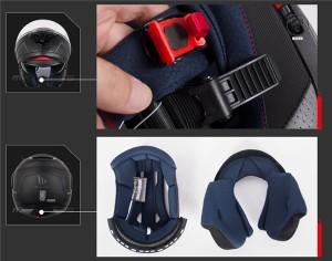 バイクヘルメット フルフェイスヘルメット システムヘルメット フリップアップヘルメット ダブルシールド PSC付き【送料無料】MT-ATOM
