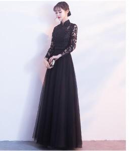 Aラインドレス韓国風  ウェディングドレス大きいサイズ プリント ファッション 二次会 結婚式披露宴花嫁 プリンセス