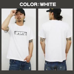 メンズ Tシャツ 大きいサイズ おしゃれ かっこいい ペイズリー ロゴ バンダナ 半袖 メール便対象 /3045/ 夏 服 白 黒 緑 rcst1230 SALE