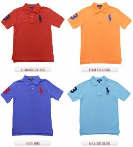 ラルフローレン RALPH LAUREN ボーイズ BOY'S ビッグポニー鹿の子ポロシャツ