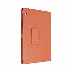 【送料無料】 オレンジ タッチペン・保護フィルム付 Toshiba Android タブレット A205SB SoftBank ケース カバー 東芝 ATB-050