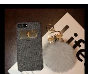 iphone6s Plus/iPhone6 Plus/iPhone7 Plus/iPhone7/iPhone8 Plus/iPhone8/iPhoneXケースふわふわボールケース【zs321】