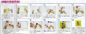 東芸押し絵キット H8808 「ききょう」 桔梗 押絵キット 【取り寄せ/通常納期1〜2週間】