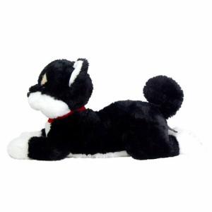 P10倍 5個で1個おまけ「ひざわんこ 柴犬 黒 黒柴 ぬいぐるみ イヌ 犬 ドッグ いぬ かわいい ブラック」 sa lem 5769264