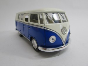 ダイキャストミニカー 1/32 1962 Volkswagen Classical Bus フォルクスワーゲン クラシカルバス ブルー