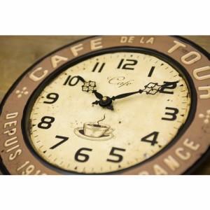 ★ 【Rejection Cafe Clock Cafe Tour】 ★ レジェクション カフェ ツアークロック★大人気 レトロ調★