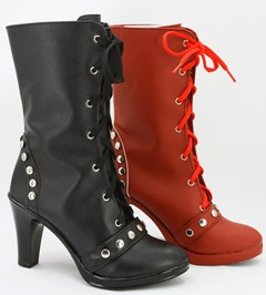Gargamel コスプレ靴 Batman Harley Quinn コスプレブーツ オーダーサイズ製作可能m2522