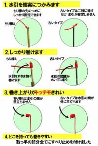 絹巻水引 色ミックス6 オリンピックカラー ちり棒Aセット
